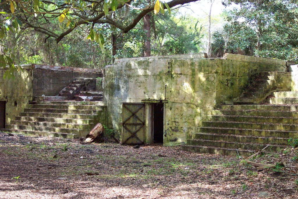 Fort Fremont in Beaufort